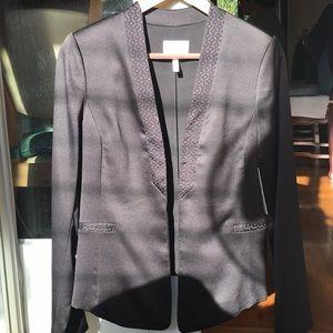 Laundry By Shelli Segal Tuxedo Collar Blazer